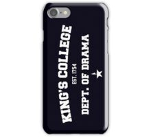 King's College Hamilton iPhone Case/Skin