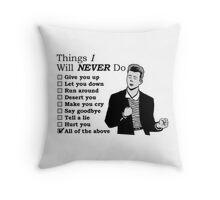 very gentleman Throw Pillow
