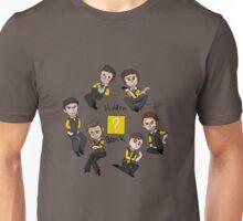 Hidden Block Chibis Unisex T-Shirt