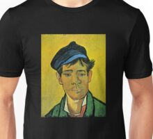 'Man with a Cap' by Vincent Van Gogh (Reproduction) Unisex T-Shirt