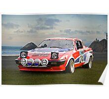 1976 Triumph TR7 V8 Rally Car Poster