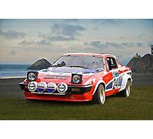 1976 Triumph TR7 V8 Rally Car Photographic Print