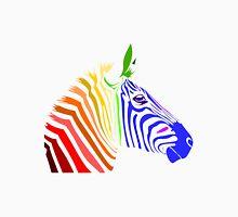 Zebra; Rainbow Zebra Unisex T-Shirt