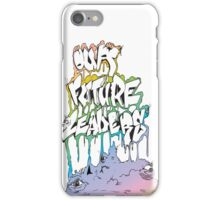 Our Future Leaders Rainbow Eyes iPhone Case/Skin