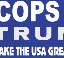 Cops for Trump Sticker