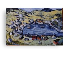 Red Island Newfoundland Canvas Print