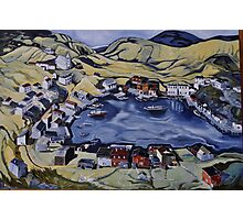 Red Island Newfoundland Photographic Print