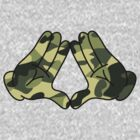 Mickey Mouse Diamond Hands Camo by mullian