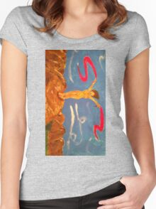 Naked dancer Women's Fitted Scoop T-Shirt