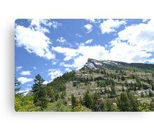 a beautiful mountain Canvas Print