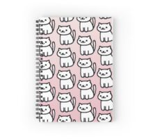 Cartoon Cat Spiral Notebook