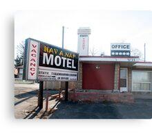 Hav A Nap Motel Metal Print