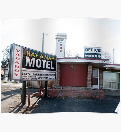 Hav A Nap Motel Poster