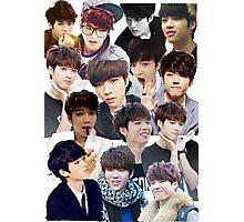 INFINITE - Nam Woohyun Collage - K-Pop Photographic Print