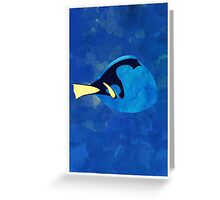 Dory Pattern Greeting Card