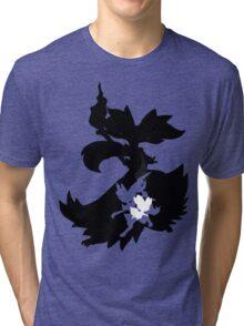 Fennekin - Braixen - Delphox ( Evolution Line ) Tri-blend T-Shirt