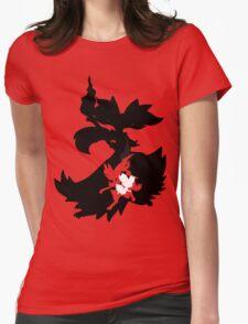 Fennekin - Braixen - Delphox ( Evolution Line ) Womens Fitted T-Shirt