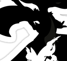 Fennekin - Braixen - Delphox ( Evolution Line ) Sticker