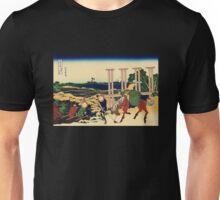 'Senju' by Katsushika Hokusai (Reproduction) Unisex T-Shirt