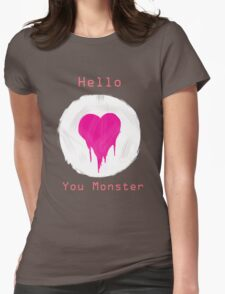 You Monster Womens Fitted T-Shirt