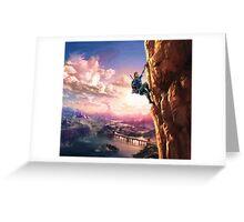 Zelda Breath of the Wild key Artwork (Works on every Item!) Greeting Card