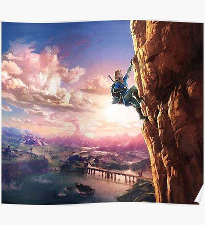 Zelda Breath of the Wild key Artwork (Works on every Item!) Poster