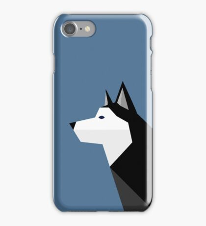 Geometric Husky iPhone Case/Skin