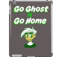 Go Ghost or Go Home - RayRay The Artist iPad Case/Skin