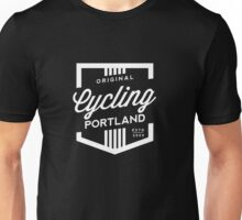 Cycling Portland Badge Unisex T-Shirt