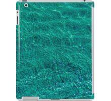 Water and sand, emerald iPad Case/Skin
