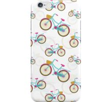 Retro Bicycle Pattern iPhone Case/Skin