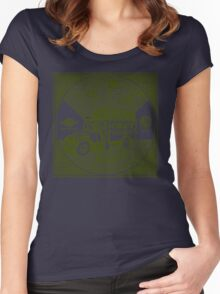 Reggae Sound System Women's Fitted Scoop T-Shirt
