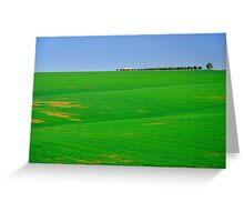Empty landscape.  Greeting Card