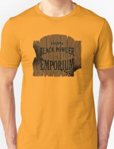 Victor's Black Powder Emporium Unisex T-Shirt