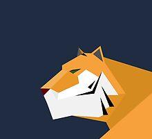 Geometric Tiger by LM09