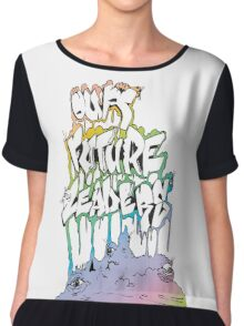 Our Future Leaders Rainbow Eyes Chiffon Top