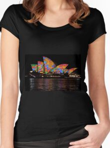 Vivid 2016 Opera House 39 Women's Fitted Scoop T-Shirt