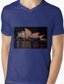 Vivid 2016 Opera House 39 Mens V-Neck T-Shirt