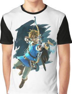 Zelda Breath of the Wild Archer Link Graphic T-Shirt