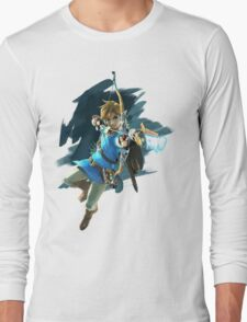 Zelda Breath of the Wild Archer Link Long Sleeve T-Shirt