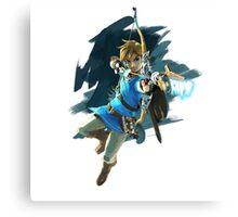 Zelda Breath of the Wild Archer Link Canvas Print