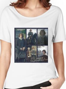 JAMMF/Highland Warrior collage  Women's Relaxed Fit T-Shirt
