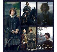 JAMMF/Highland Warrior collage  Photographic Print