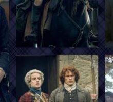 JAMMF/Highland Warrior collage  Sticker
