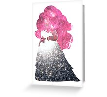 Rose Space Greeting Card
