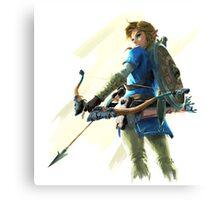 Zelda Breath of the Wild Archer Link 2 Canvas Print