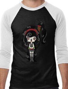 Smoky Happy by Lolita Tequila Men's Baseball ¾ T-Shirt