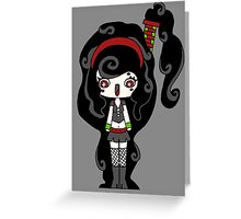 Smoky Happy by Lolita Tequila Greeting Card