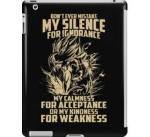 Super Saiyan Gohan Shirt- RB00449 iPad Case/Skin