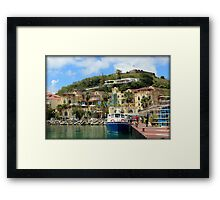 Le West Indies Mall in St. Martin  Framed Print